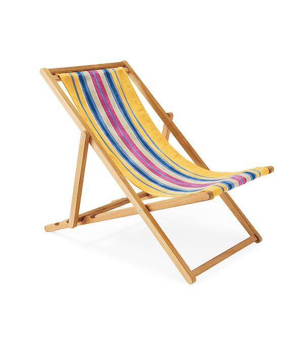 Teak Sling Chair