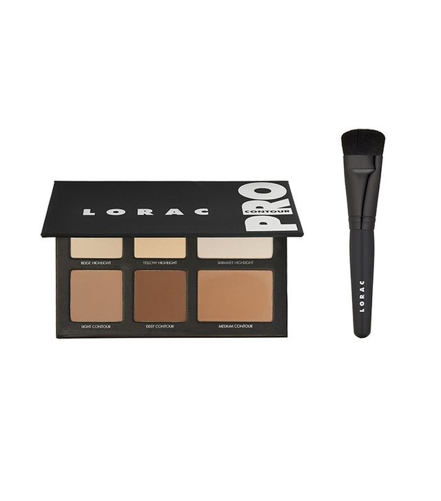 Lorac Pro Contour Palette and Brush - Makeup Tips