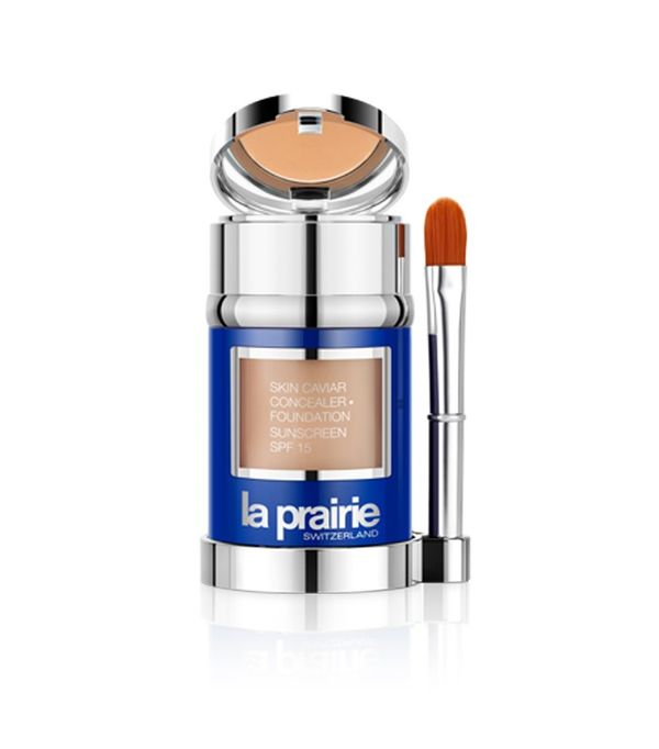 Best foundation: La Prairie Skin Caviar Luxe Concealer Foundation SPF15