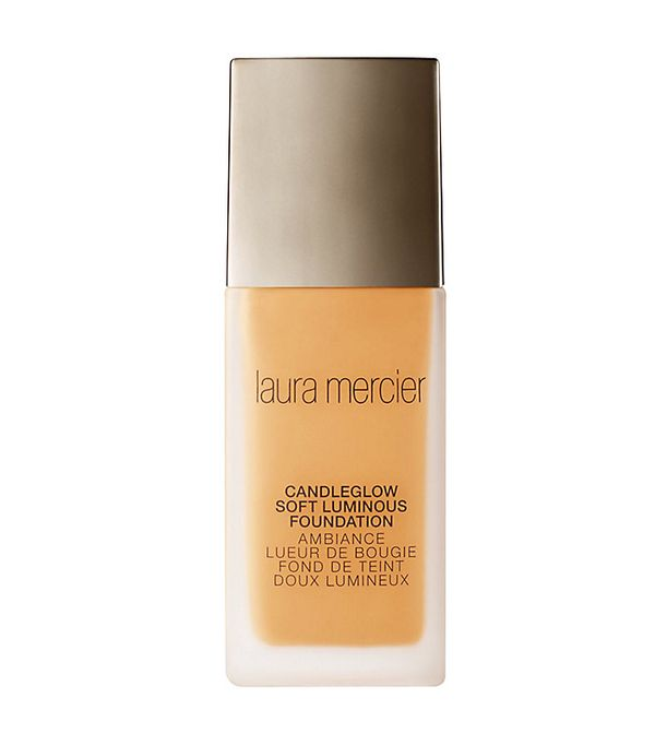 Best foundation: Laura Mercier candleglow soft luminous foundation