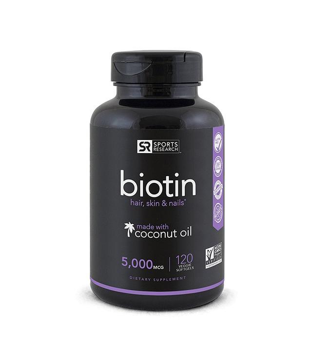 Sports Research Biotin 5000 Mcg