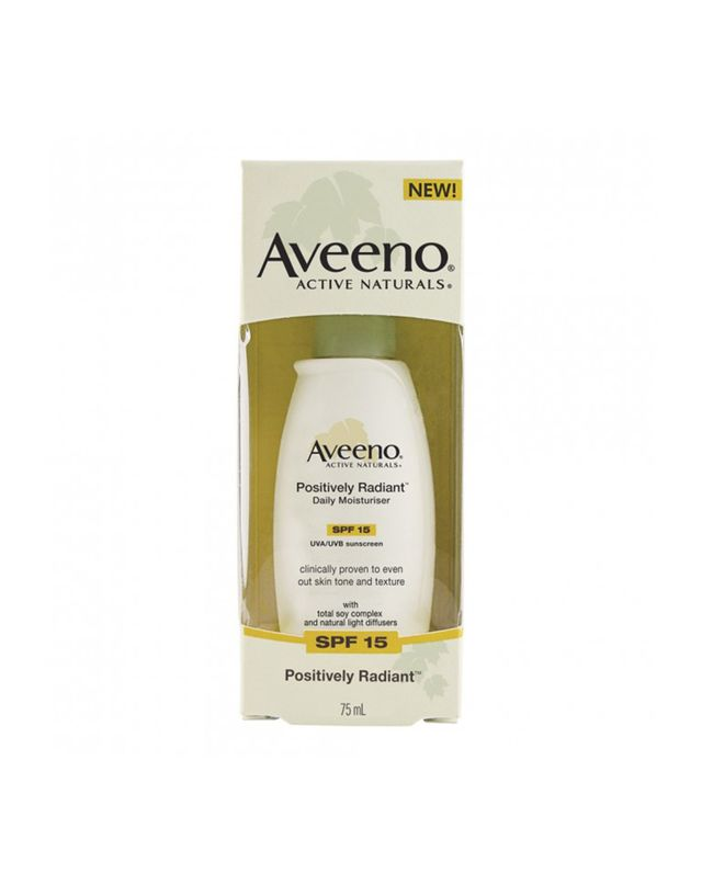 Aveeno Positively Radiant Daily Moisturiser SPF15