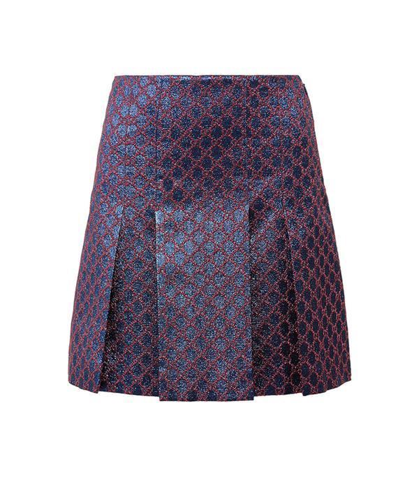 best pleated mini skirt