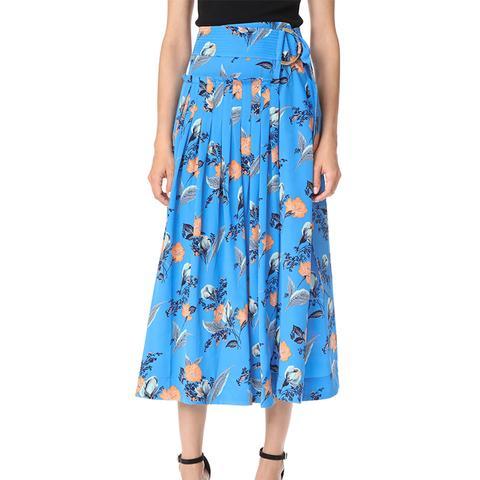 D-Ring Midi Skirt