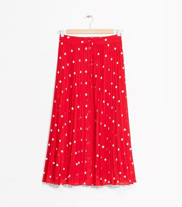 best polka dot skirts