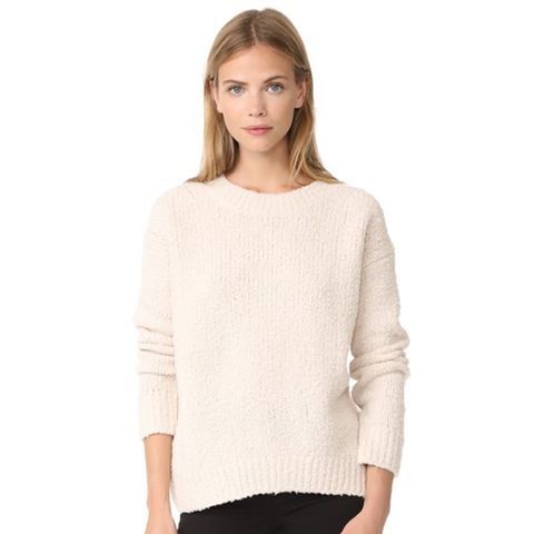 Textured Wool Pullover