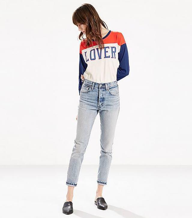 Levi's 501 Selvedge Skinny Jeans