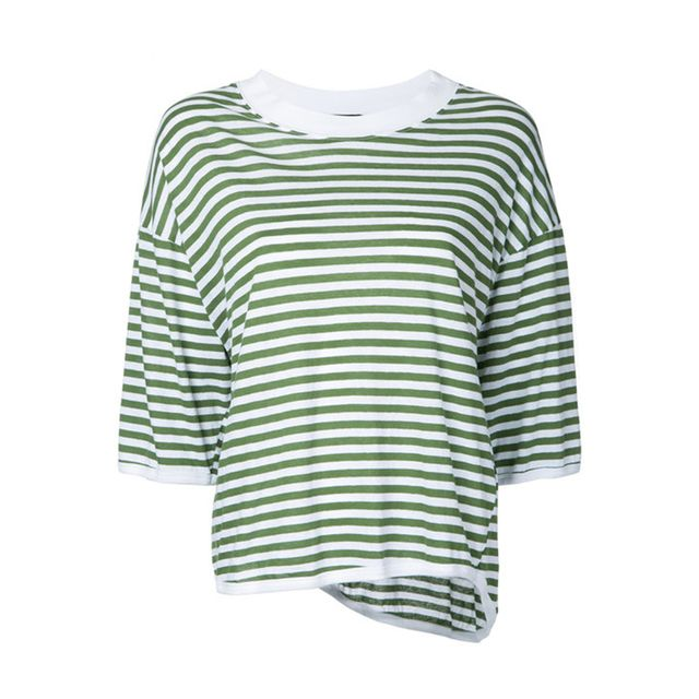 Bassike Striped Top