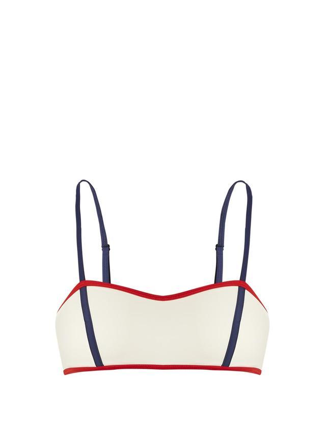 The Natalie bandeau bikini top