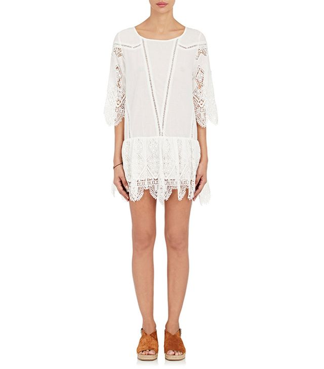 Women's Prairie Crochet Minidress