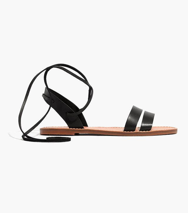 Madewell The Boardwalk Ankle-Tie Sandal