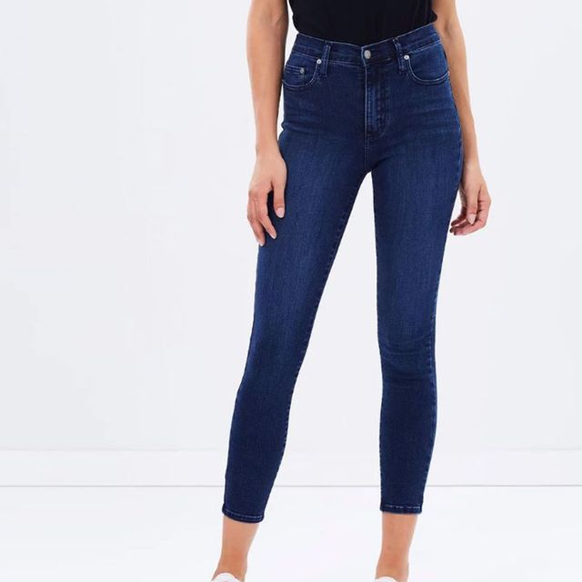 Nobody Cult Skinny Ankle Jeans