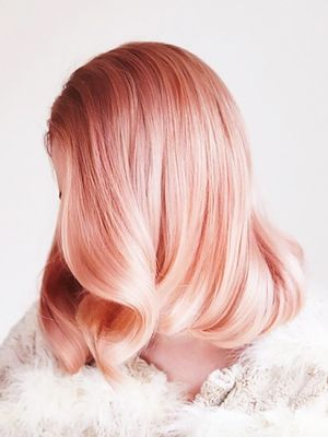 Peach Hair Is All Over Pinterest, and We're Mesmerised
