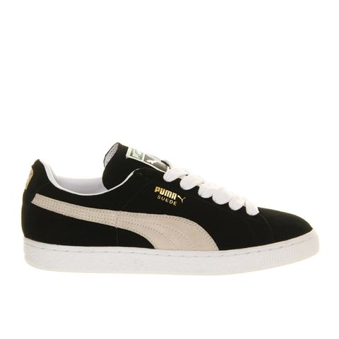 Suede Classic Trainers In Black