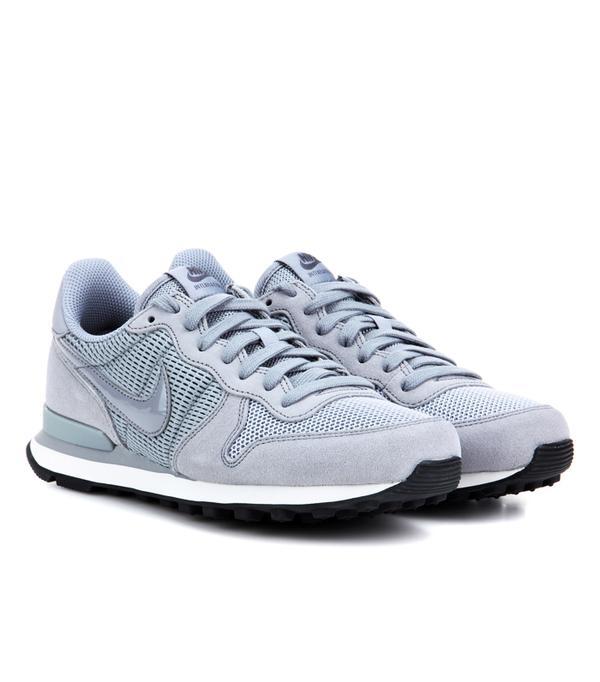 Suede trainers trend: Nike Nike Internationalist Suede Sneakers