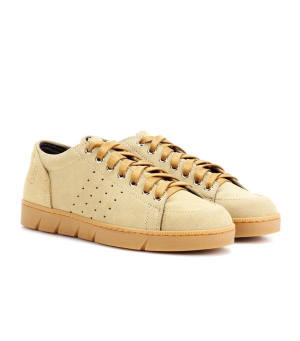 Suede trainers trend: Loewe Suede Sneakers