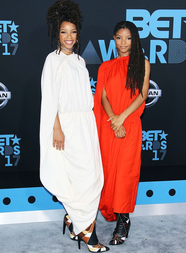 Chloe and Halle style: At the BET Awards