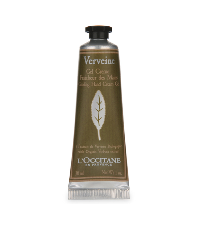 loccitane verbena cooling hand cream gel - best summer hand lotions
