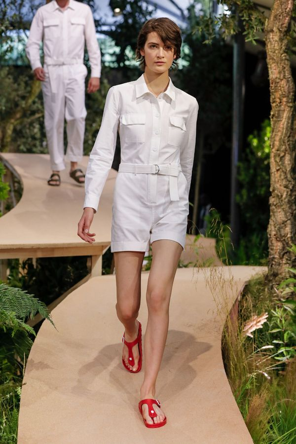 birkenstock held a runway show in paris whowhatwear. Black Bedroom Furniture Sets. Home Design Ideas