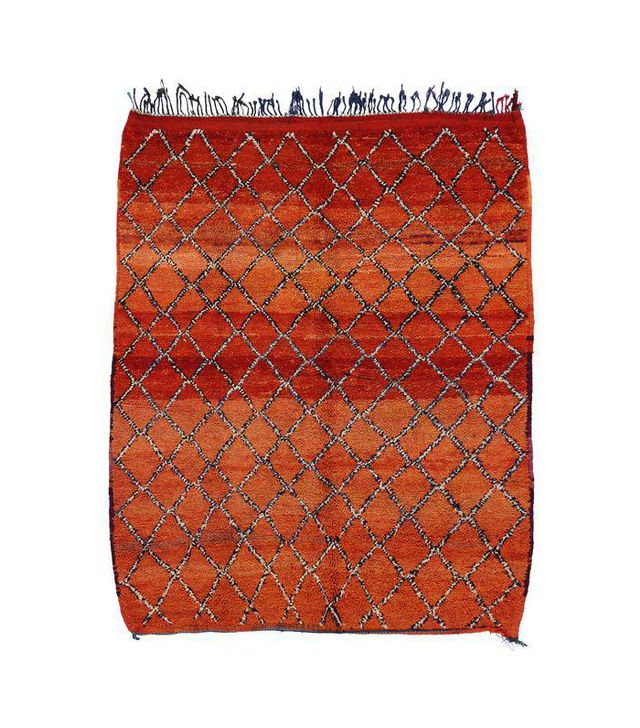 "Vintage Berber Moroccan Rug - 5'9"" x 6'11"""