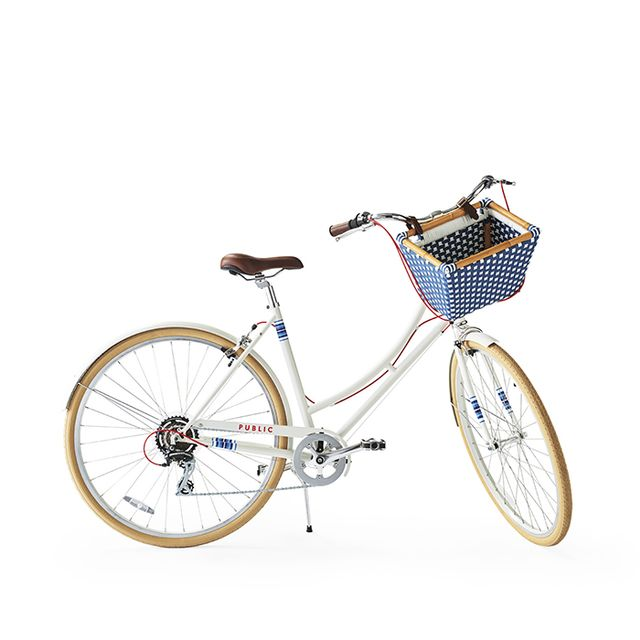 Limited-Edition PUBLIC® C7 Bike with Riviera Basket