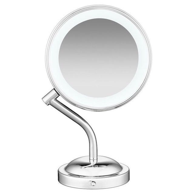 Conair LED Lighted Mirror. Best Makeup Mirrors   Byrdie