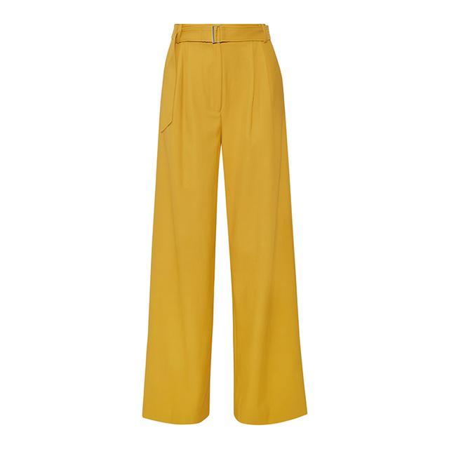 Stella Twill Wide-leg Pants