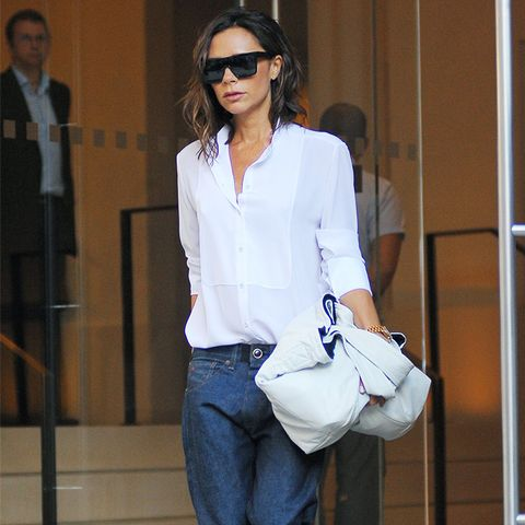 Victoria Beckham style: Perfecting a turn-up is key