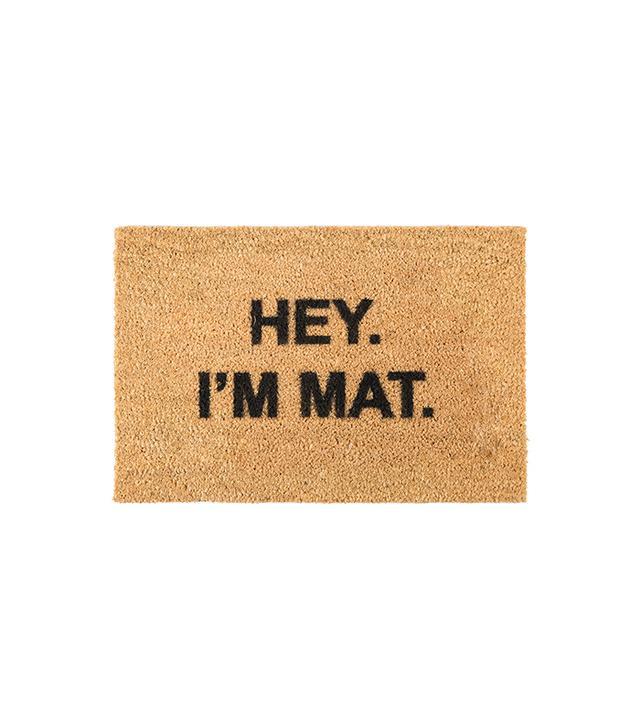 Artsy I'm Mat Door Mat
