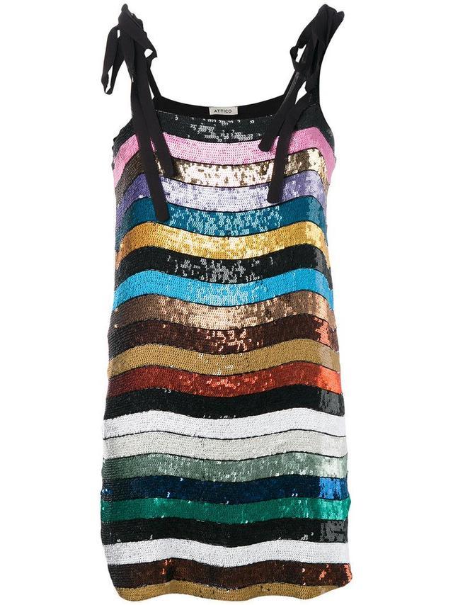 Sabrina sequin embellished top
