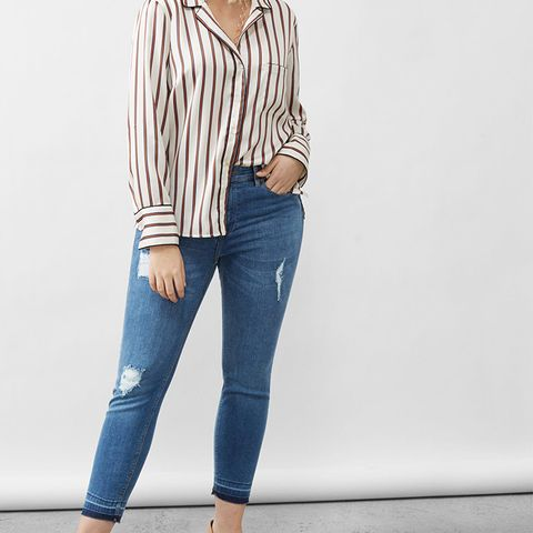 Slim-Fit Push Up Mariah Jeans