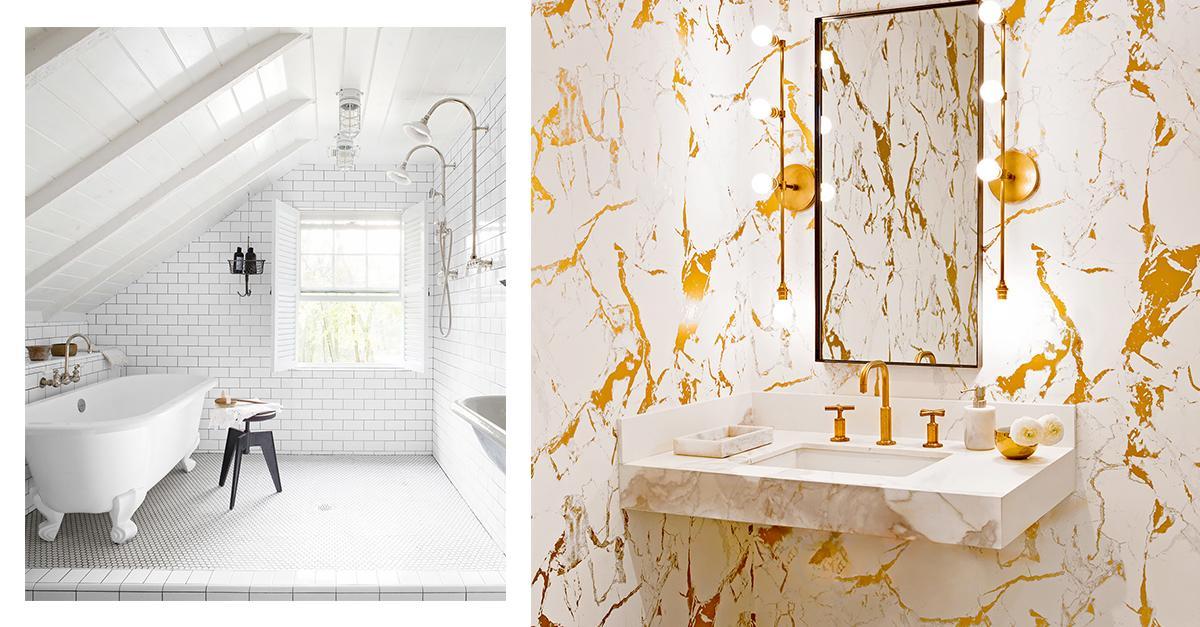Yellow Bathroom Lights 10 bathroom lighting ideas to make you look your best | mydomaine