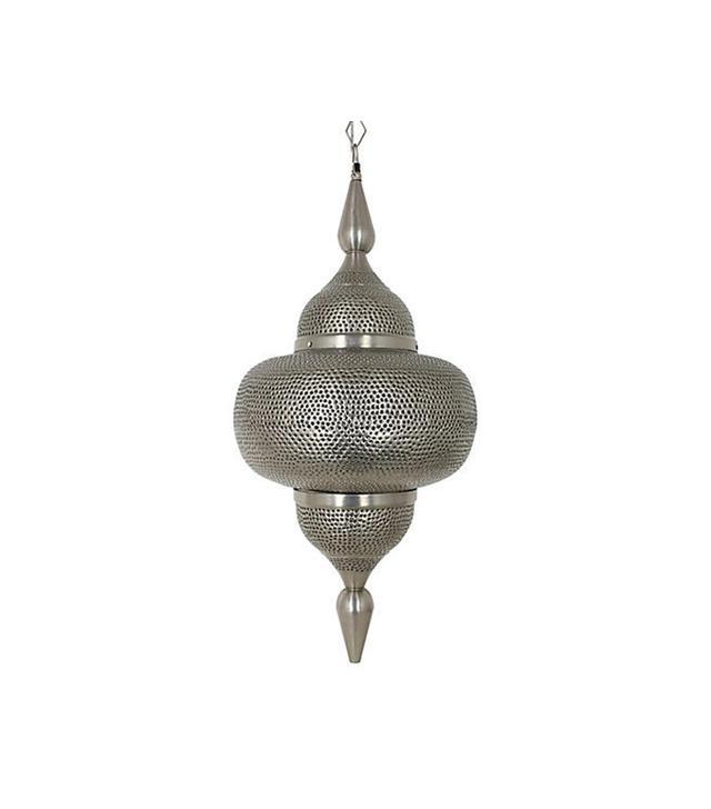 Jono Mirrors Thrush Pendant, Antique Silver