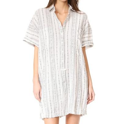 Short Sleeve Shirtdress
