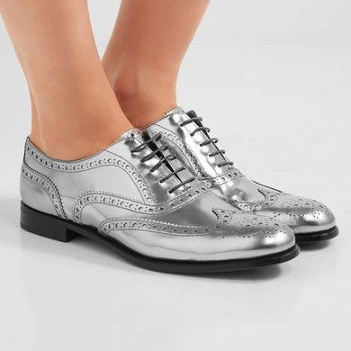 Church's Burwood 3 Mirrored-Leather Brogues