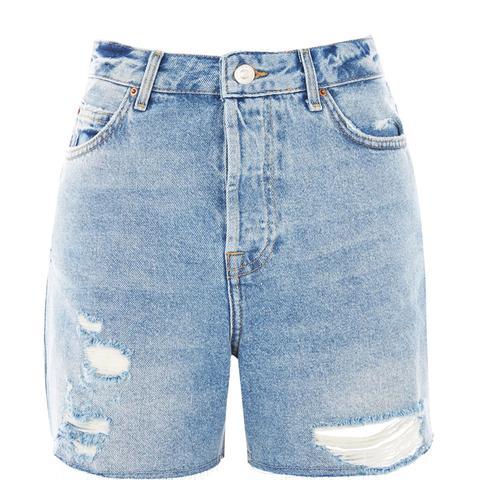 Tall Bleach Ripped Ashley Shorts
