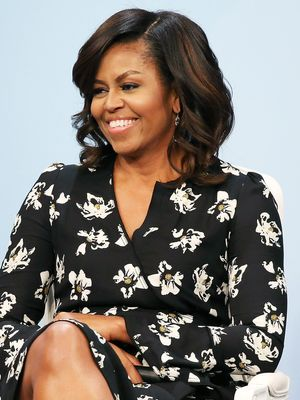 Michelle Obama Just Wore Leggings With a Sheer Dress