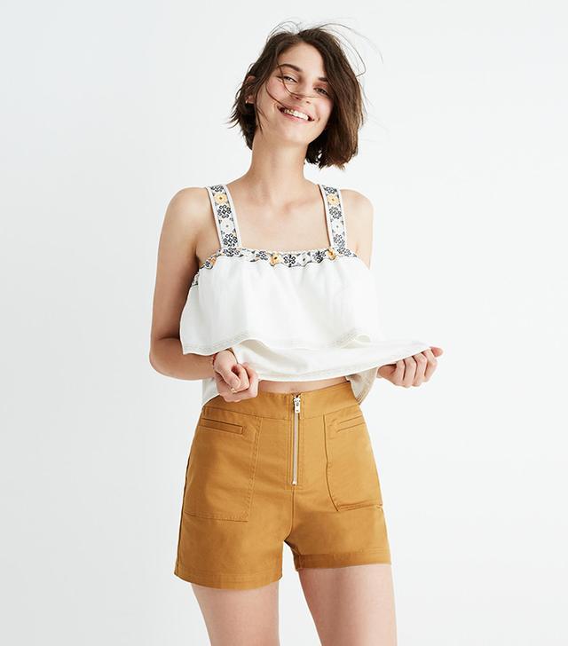 Camino High-Rise Shorts