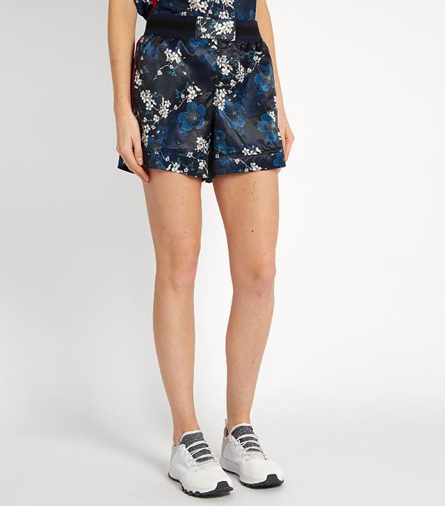 Garda Cherry Blossom-print shorts