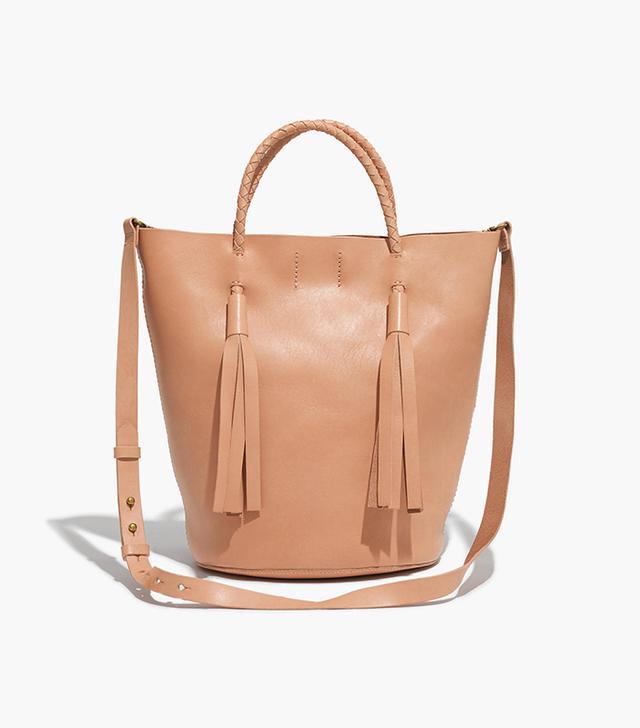 The Austin Tassel Bucket Tote Bag