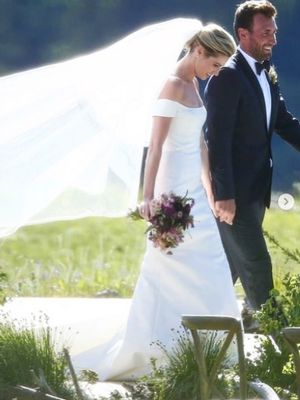Erin Andrews Wore the Same Wedding Dress Trend as This Princess