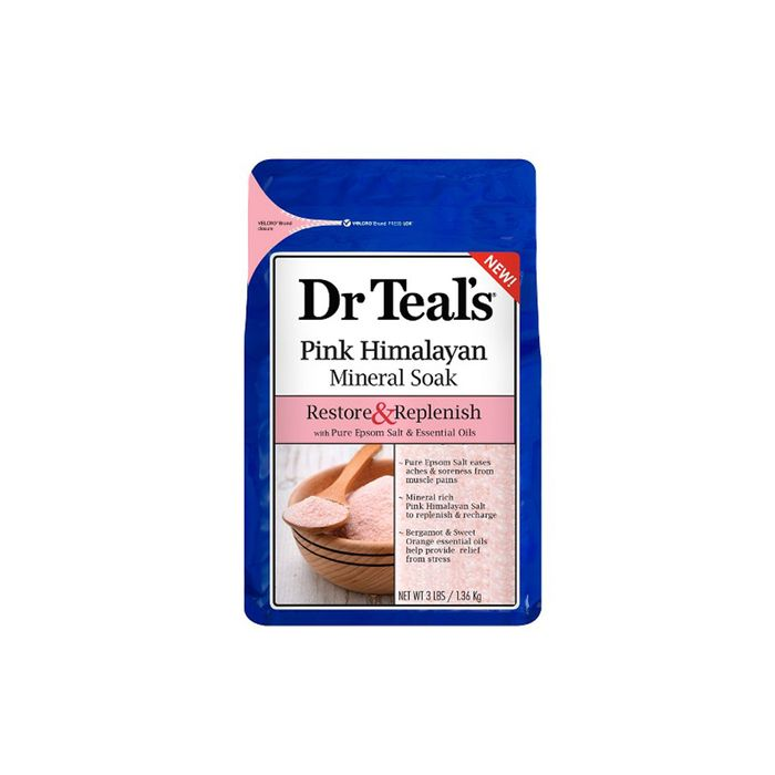 Pink Himalayan Mineral Soak by Dr. Teal's