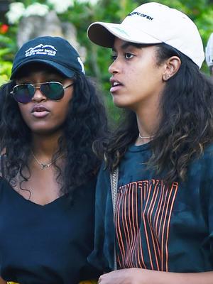 Malia and Sasha Obama Are Twinning in Bali