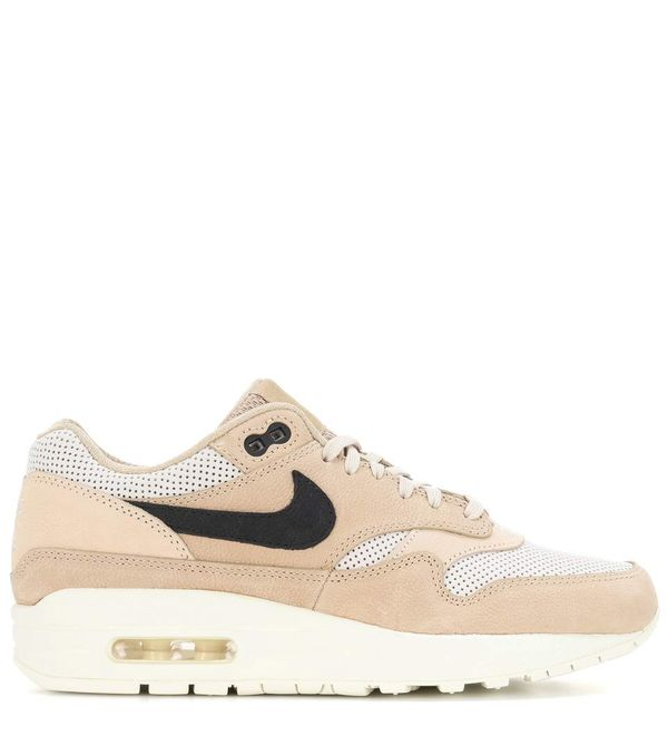 Air Max 1 Pinnacle leather and fabric sneakers