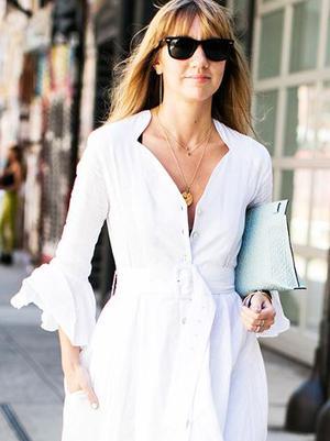 These 9 White Dresses Are So Pretty