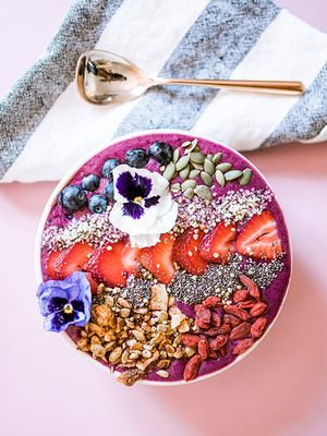 Recipe: A Superfood Smoothie Bowl That's Perfect for Summer