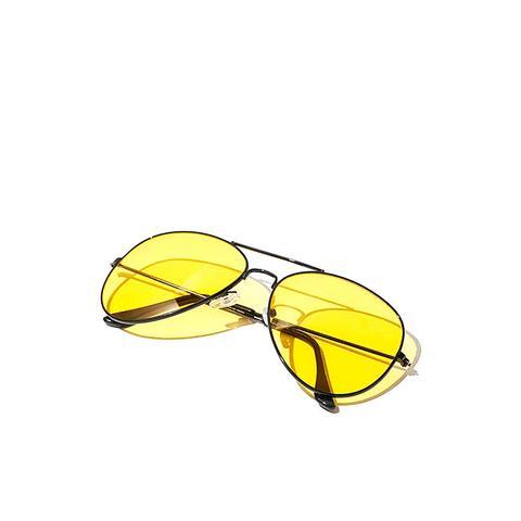 Good Vibes Aviator Sunglasses