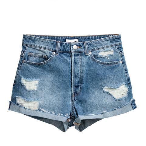 Short High Waist Shorts
