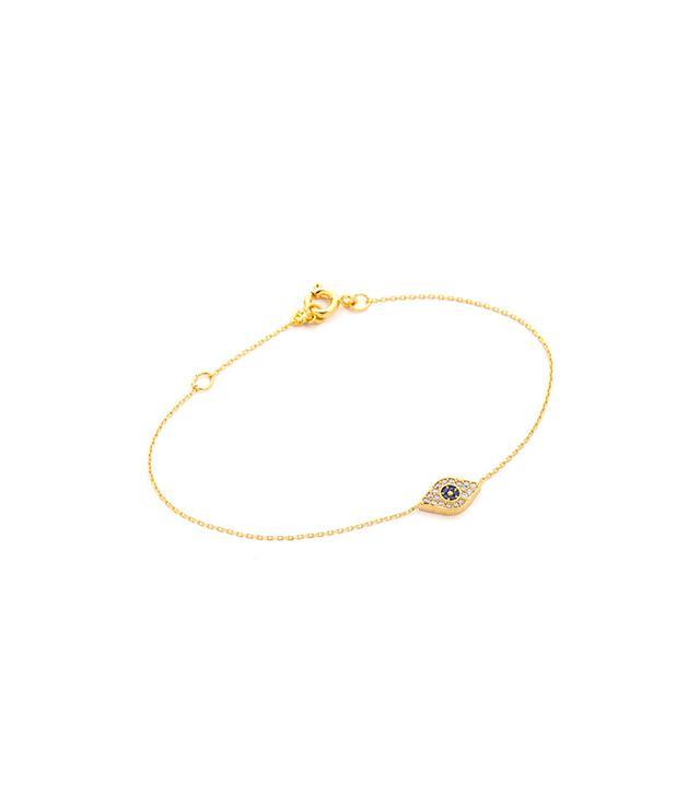 Tai Chain Bracelet With Evil Eye