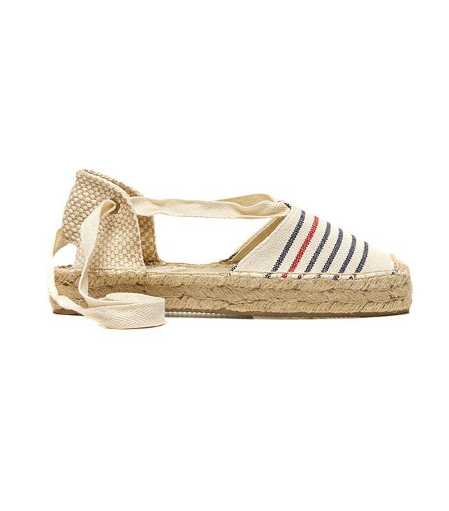 Soludos Provence Striped Platform Gladiator Sandal
